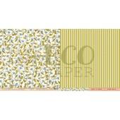 Лист бумаги для скрапбукинга EcoPaper ВЬНОК коллекция Атлас Бабочек 30х30см