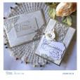 Фольга для термотрансфера Couture Creations GoPress and Foil матовый серебристый
