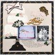 Набор однотонной бумаги для скрапбукинга Echo Park WEDDING DAY 30х30см
