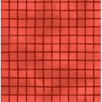 Ткань лоскутная WOODSY WONDER красная 50х55см