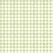 Ткань лоскутная SORBETS зеленая клетка 50x55см