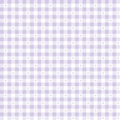 Ткань лоскутная SORBETS сиреневая клетка 50x55см