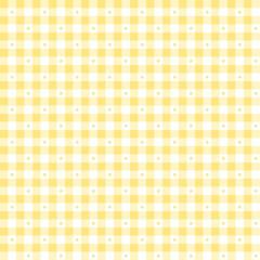 Ткань лоскутная SORBETS желтая клетка 50x55см