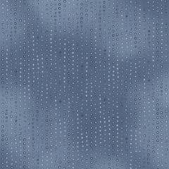 Ткань лоскутная RAINBOW DREAMS синяя 50х55см