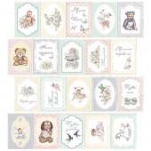 Набор полос с карточками для декорирования Фабрика Декора BABY SHABBY