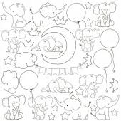 Лист для раскрашивания маркерами Фабрика Декора MY LITTLE BABY BOY 30х30