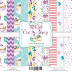 Набор бумаги для скрапбукинга Фабрика Декора CANDY SHOP 30х30см