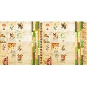 Лист бумаги для скрапбукинга Фабрика Декора BOTANY AUTUMN 30х30см карточки