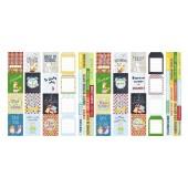 Набор полос с карточками для декорирования Фабрика Декора COOL SCHOOL