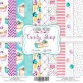 Набор бумаги для скрапбукинга Фабрика Декора CANDY SHOP 20х20см