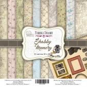 Набор бумаги для скрапбукинга Фабрика Декора SHABBY MEMORY 20х20см