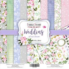 Набор бумаги для скрапбукинга Фабрика Декора WEDDING OF OUR DREAM 20х20см
