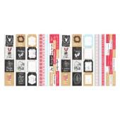 Набор полос с карточками для декорирования Фабрика Декора CHRISTMAS FAIRYTALES