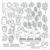 Лист для раскрашивания маркерами Фабрика Декора COOL SCHOOL 30х30