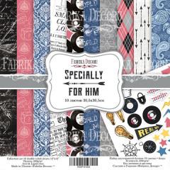 Набор бумаги для скрапбукинга Фабрика Декора SPECIALLY FOR HIM 20х20см