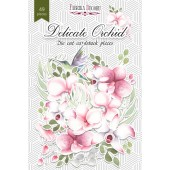 Набор высечек для украшения Фабрика Декора DELICATE ORCHID