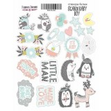 Набор наклеек (стикеров) #033 Фабрика Декора SCANDI BABY BOY