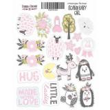 Набор наклеек (стикеров) #034 Фабрика Декора SCANDI BABY GIRL