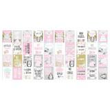 Набор полос с карточками для декорирования Фабрика Декора SCANDI BABY GIRL