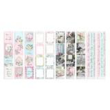 Набор полос с карточками для декорирования Фабрика Декора SHABBY GARDEN
