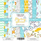 Набор бумаги для скрапбукинга Фабрика Декора MY TINY SPARROW BOY 20х20см