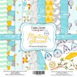 Набор бумаги для скрапбукинга Фабрика Декора MY TINY SPARROW BOY 30х30см