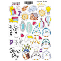 Набор наклеек (стикеров) #030 Фабрика Декора MY TINY SPARROW BOY