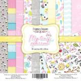 Набор бумаги для скрапбукинга Фабрика Декора MY TINY SPARROW GIRL 20х20см