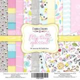 Набор бумаги для скрапбукинга Фабрика Декора MY TINY SPARROW GIRL 30х30см