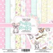 Набор бумаги для скрапбукинга Фабрика Декора PUFFY FLUFFY GIRL 30х30см