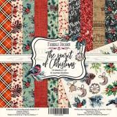 Набор бумаги для скрапбукинга Фабрика Декора THE SPIRIT OF CHRISTMAS 20х20см