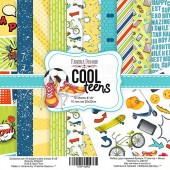 Набор бумаги для скрапбукинга Фабрика Декора COOL TEENS 20х20см