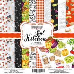 Набор бумаги для скрапбукинга Фабрика Декора SOUL KITCHEN 20х20см