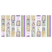 Набор полос с карточками для декорирования Фабрика Декора LAVENDER PROVENCE