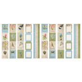 Набор полос с карточками для декорирования Фабрика Декора BOTANY SPRING