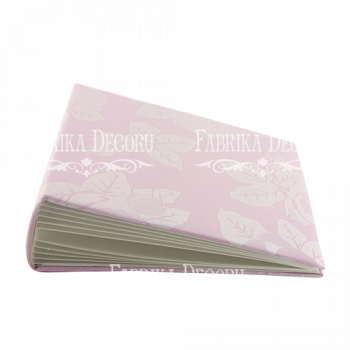 Заготовка для альбома Фабрика Декора СВАДЕБНЫЙ РОЗОВЫЙ в мягкой обложке