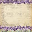 Набор бумаги для скрапбукинга Фабрика Декора LAVENDER PROVENCE 30х30см