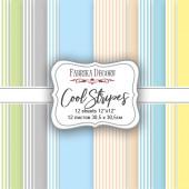 Набор бумаги для скрапбукинга Фабрика Декора COOL STRIPES 30х30см