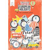 Набор высечек для украшения Фабрика Декора EUROPEAN HOLIDAYS