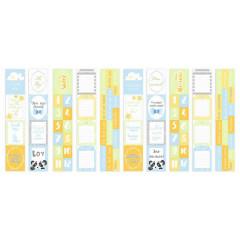 Набор полос с карточками для декорирования Фабрика Декора MY LITTLE PANDA BOY