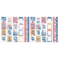 Набор полос с карточками для декорирования Фабрика Декора SEA SOUL