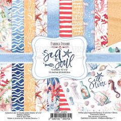 Набор бумаги для скрапбукинга Фабрика Декора SEA SOUL 30х30см