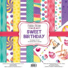Набор бумаги для скрапбукинга Фабрика Декора SWEET BIRTHDAY 30х30см