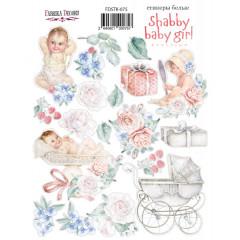 Набор наклеек (стикеров) #075 Фабрика Декора SHABBY BABY GIRL REDESIGN 1