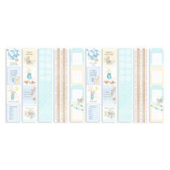 Набор полос с карточками для декорирования Фабрика Декора DREAMY BABY BOY