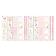 Набор полос с карточками для декорирования Фабрика Декора DREAMY BABY GIRL