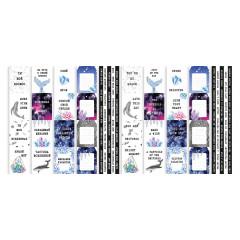 Набор полос с карточками для декорирования Фабрика Декора MYSTICAL SPACE