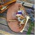 3D заготовка Фабрика Декора ДВА ОКНА #277