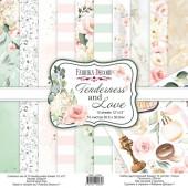 Набор бумаги для скрапбукинга Фабрика Декора TENDERNESS AND LOVE 30х30см