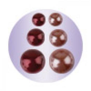 Клеевые полубусины Mr.Painter ДВУХЦВЕТНЫЙ НАБОР бордово-коричневый